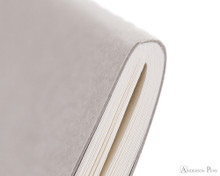 Kobeha Graphilo Notebook - A5, Graph - Gray binding detail