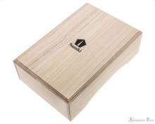 Namiki Yukari Maki-e Fountain Pen - Pine Needle - Box Closed
