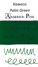 Kaweco Palm Green Ink Cartridges (6 Pack)
