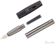 Faber-Castell Loom Gunmetal Polished Fountain Pen