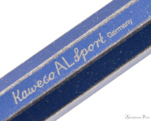 Kaweco AL Sport Fountain Pen - Stonewashed Blue - Imprint