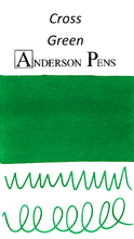 Cross Green Ink Color Swab