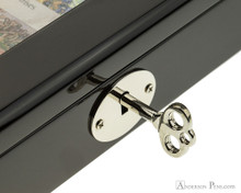 Visconti 125th Anniversary Collectors Case - Key In Lock