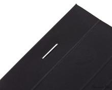 Rhodia No. 16 Premium Notepad - A5, Lined - Black staple detail