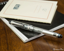 Pilot Custom 74 Fountain Pen - Clear - on Notebook