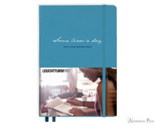 Leuchtturm1917 Some Lines A Day Memory Book A5 - Nordic Blue