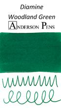 Diamine Woodland Green Ink Sample (3ml Vial)