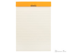 Rhodia No. 16 Premium Notepad - A5, Lined - Chocolate open