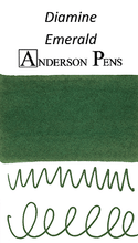 Diamine Emerald Ink Color Swab