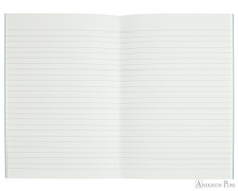 APICA CD11 Notebook - A5, Lined - Light Blue open