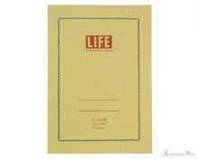 Life Vermilion Notebook - A5 (6 x 8), Graph Paper