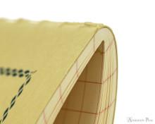 Life Vermilion Notebook - A5 (6 x 8), Graph Paper - Binding