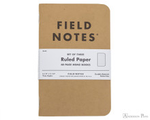 Field Notes Notebooks - Ruled (3 Pack)