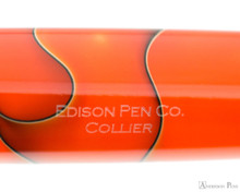 Edison Collier Fountain Pen - Persimmon Swirl - Imprint