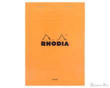 Rhodia No. 16 Staplebound Notepad - A5, Blank - Orange