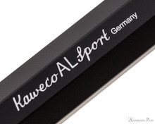 Kaweco AL Sport Fountain Pen - Black - Imprint