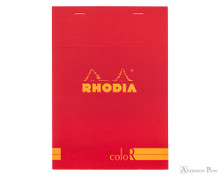 Rhodia No. 16 Premium Notepad - A5, Lined - Red