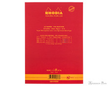 Rhodia No. 16 Premium Notepad - A5, Lined - Red back cover