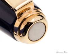 Sheaffer Prelude Rollerball - Cobalt Blue Lacquer with Rose Gold Trim - Cap Jewel