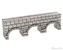Jac Zagoory Thought Aqueduct Pewter Pen Holder
