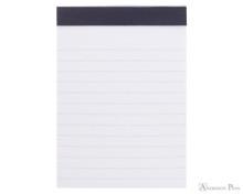Rhodia No. 12 Staplebound Notepad - 3.375 x 4.75, Lined - Black open