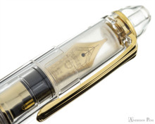 Sailor 1911 Large Fountain Pen - Clear with Gold Trim