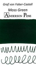 Graf von Faber-Castell Moss Green Ink Cartridges color swab