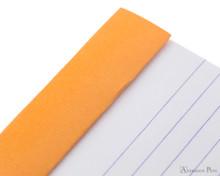 Rhodia No. 14 Staplebound Notepad - 4.375 x 6.375, Lined - Orange perforations