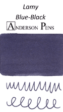 Lamy Blue-Black Ink Color Swab