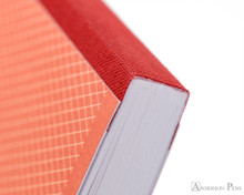 Clairefontaine 1951 Clothbound Notebook - 5.75 x 8.25, Lined - Red Coral binding