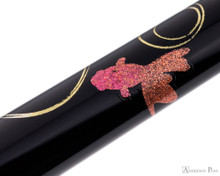 Platinum Classic Maki-e Kanazawa Leaf Fountain Pen - Goldfish - Pattern 3