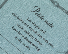 ProFolio Petite Journal - Small, Ocean - Cover
