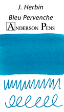 J. Herbin Bleu Pervenche Ink Sample Color Swab