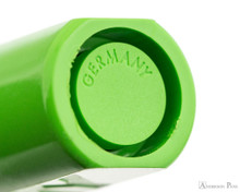 Lamy Safari Fountain Pen - Green - Barrel End