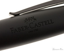 Faber-Castell Loom Rollerball - Gunmetal Polished - Imprint