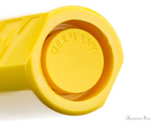 Lamy Safari Fountain Pen - Yellow - Barrel End
