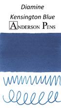 Diamine Kensington Blue Ink Color Swab