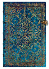 Paperblanks Mini Journal - Equinoxe Azure, Lined