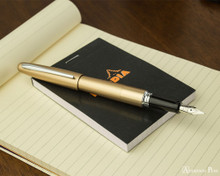Pilot Metropolitan Fountain Pen - Gold Plain - Posted on Notebook