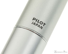 Pilot Metropolitan Fountain Pen - Silver Plain - Imprint