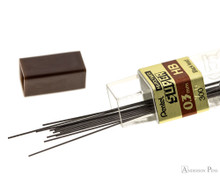 Pentel Super Hi-Polymer HB Lead - 0.3mm - 12 Pieces - Open