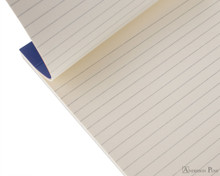 Rhodia No. 18 Premium Notepad - A4, Lined - Sapphire open