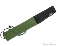 Taccia Kimono Chirimen Pen Wrap - Single, Grass - Open