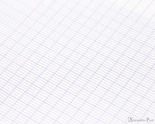 Clairefontaine Classic Wirebound Notepad - 6.75 x 8.75, French-Ruled - Assorted - Graph Closeup