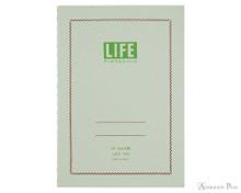 Life Pistachio Notebook - A6 (4 x 6), Graph Paper