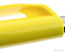 Caran d'Ache 888 Infinite Ballpoint - Lemon Yellow - Imprint