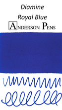 Diamine Royal Blue Ink Sample (3ml Vial)