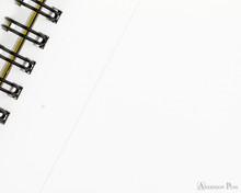 Maruman Mnemosyne N181A Notebook A4 - Blank - Page Closeup
