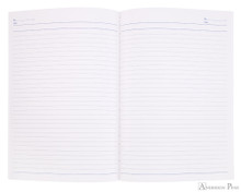APICA CD15 Notebook - B5, Lined - Navy open