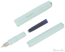 Kaweco Skyline Sport Fountain Pen - Mint - Parted Out